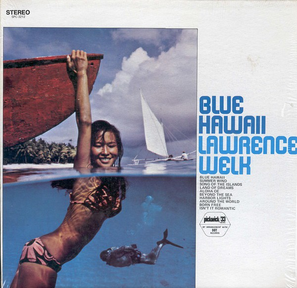 Lawrence Welk - Blue Hawaii (LP, Album)