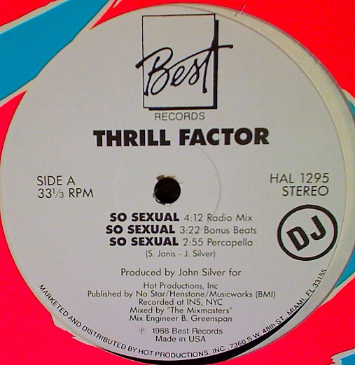 Thrill Factor - So Sexual (12