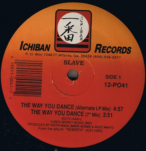 Slave - The Way You Dance (12