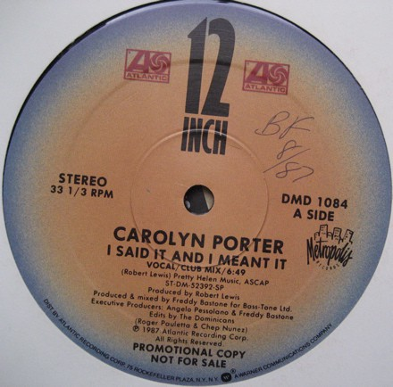 Carolyn Porter - I Said It And I Meant It (12