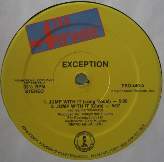 Exception - Jump With It (12