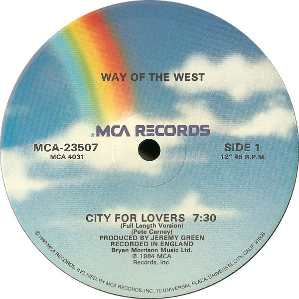Way Of The West - City For Lovers (12