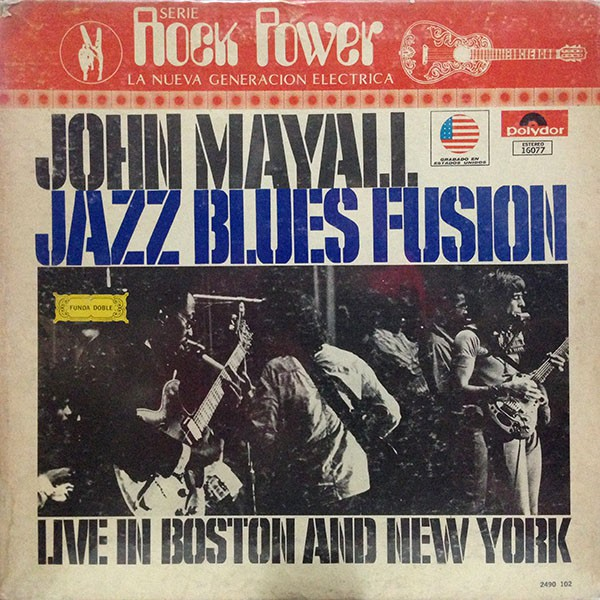 John Mayall - Jazz Blues Fusion (LP, Album, Gat)