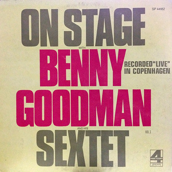 Benny Goodman - On Stage (LP, Comp)