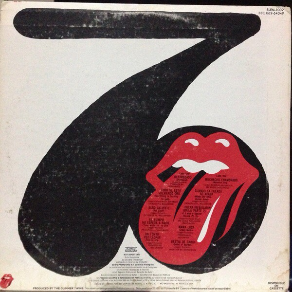 The Rolling Stones - Sucking In The Seventies (Lo Mejor De Los Setentas) (LP, Comp)