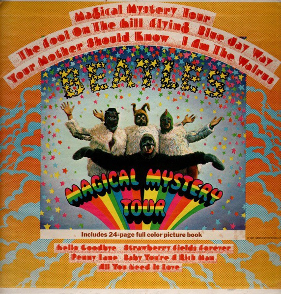The Beatles - Magical Mystery Tour (LP, Comp, Mono)