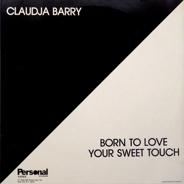 Claudja Barry - Born To Love / Your Sweet Touch (12