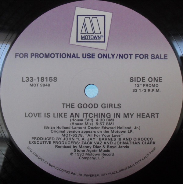 The Good Girls - Love Is Like An Itching In My Heart (12