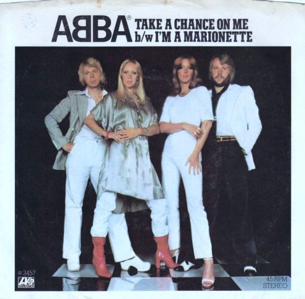 ABBA - Take A Chance On Me b/w I'm A Marionette (7