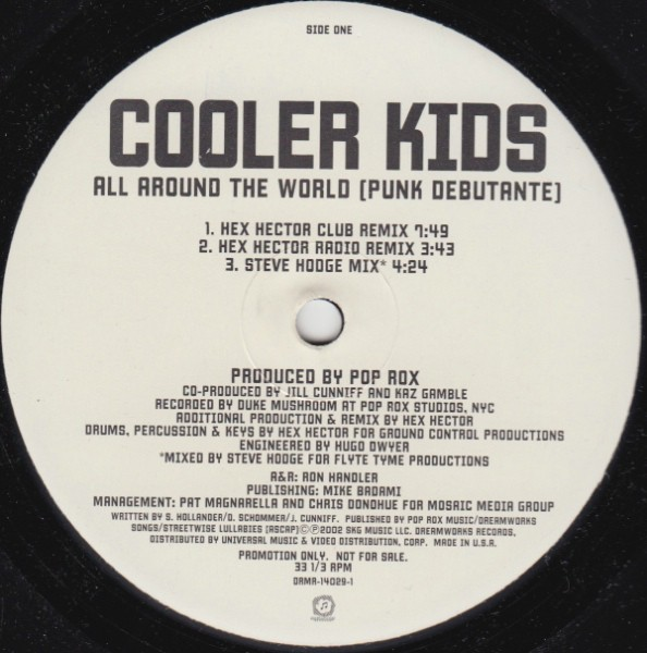 Cooler Kids - All Around The World (Punk Debutante) (12