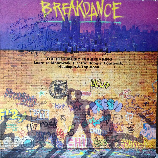 Various / Alex And The City Crew - Breakdance (LP, Comp)