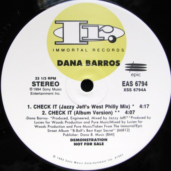 Dana Barros - Check It (12