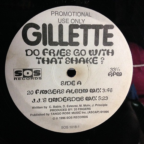Gillette - Do Fries Go With That Shake? (12
