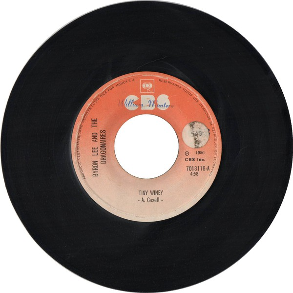 Byron Lee And The Dragonaires - Tiny Winey / Love Up (7