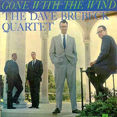 The Dave Brubeck Quartet - Gone With The Wind (LP, Album, Mono)