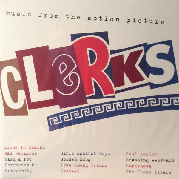 Various - Clerks (Music From The Motion Picture) (LP, Cle + LP, S/Sided, Etch, Cle + Comp, Ltd, RE)