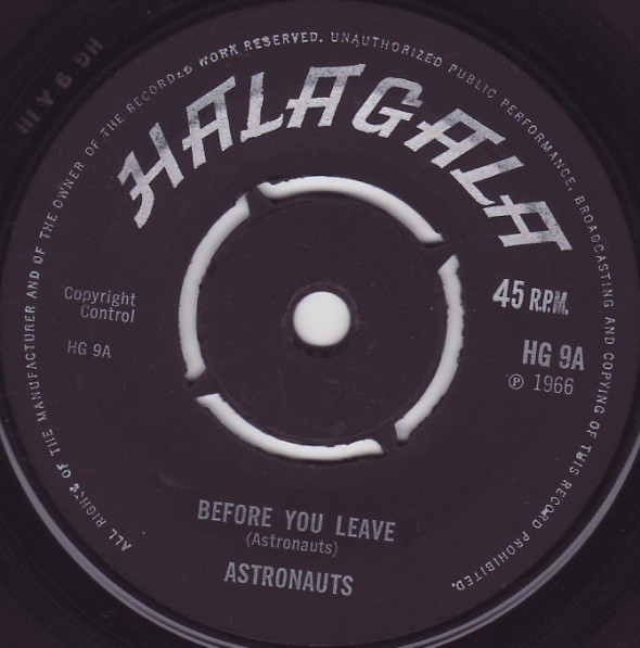 Astronauts* - Before You Leave / Syncopate (7
