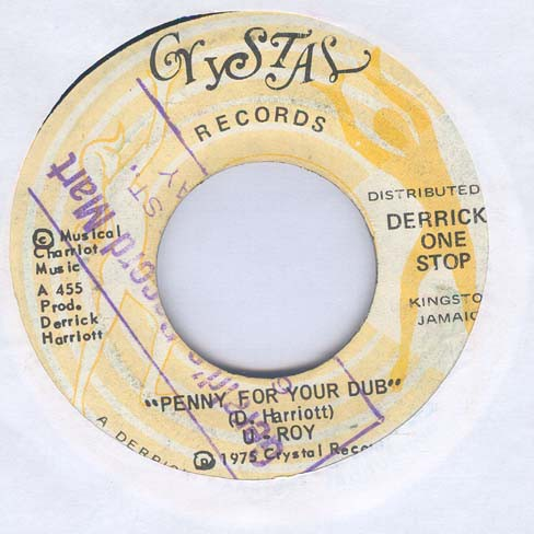 U-Roy / The Charriot* - Penny For Your Dub / Your Dub Version (7