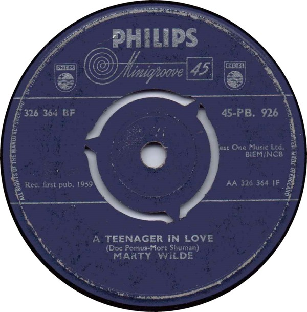 Marty Wilde - A Teenager In Love (7