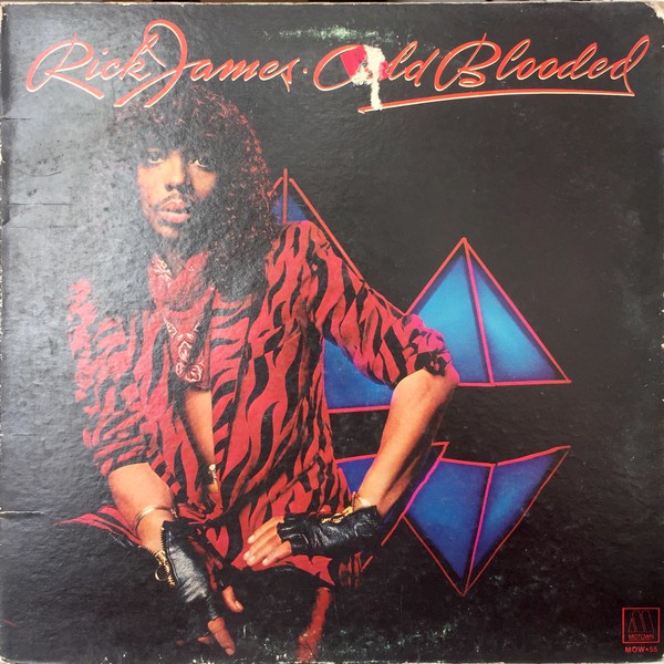 Rick James - Cold Blooded (LP, Album, Gat)