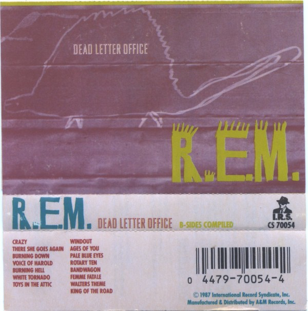 R.E.M. - Dead Letter Office (Cass, Comp)