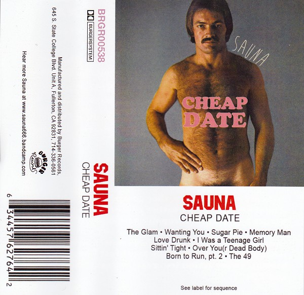 Sauna (9) - Cheap Date (Cass, Album)