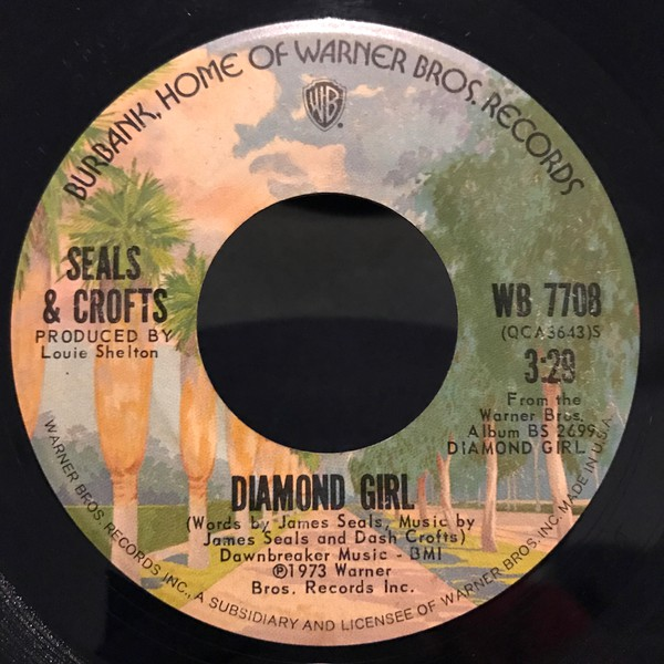 Seals & Crofts - Diamond Girl (7