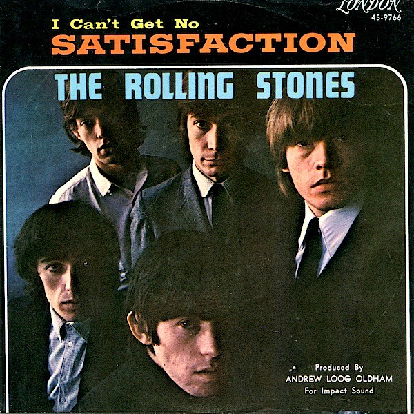 The Rolling Stones - (I Can't Get No) Satisfaction / The Under Assistant West Coast Promotion Man (7