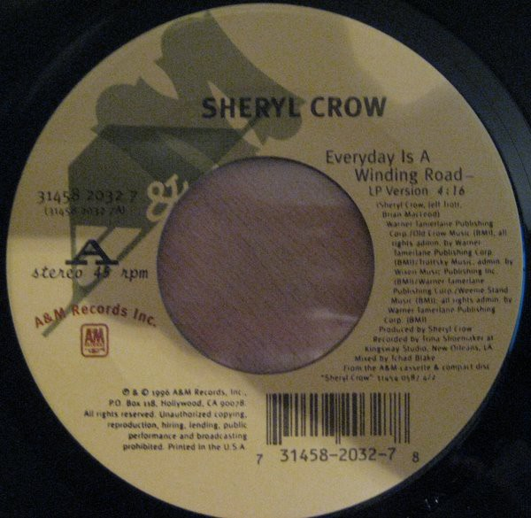 Sheryl Crow - Everyday Is A Winding Road (7