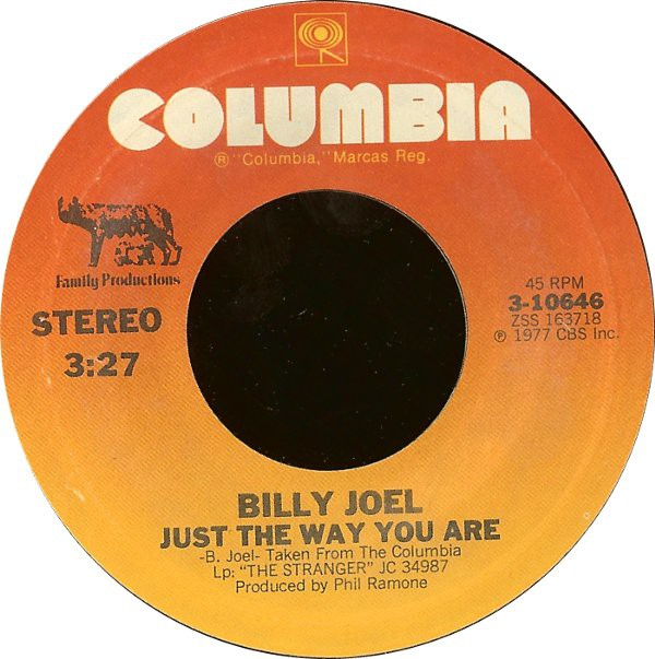 Billy Joel - Just The Way You Are / Get It Right The First Time (7