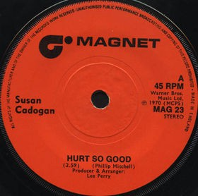 Susan Cadogan / The Upsetters - Hurt So Good / Hurt So Good (Instrumental) (7