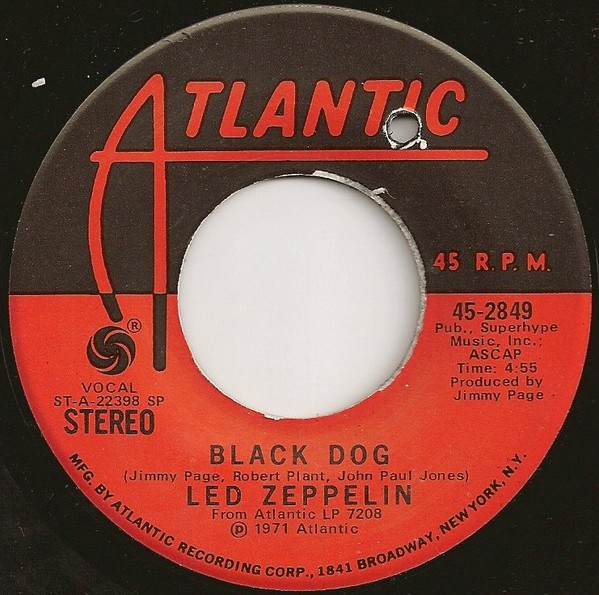 Led Zeppelin - Black Dog (7
