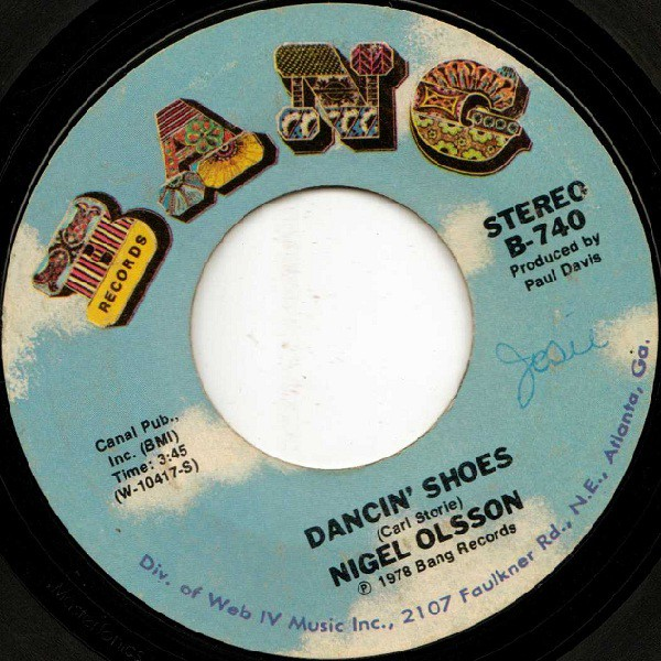 Nigel Olsson - Dancin' Shoes / Living In A Fantasy (7