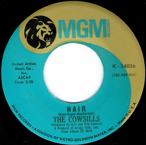 The Cowsills - Hair / What Is Happy? (7