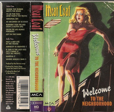 Meat Loaf - Welcome To The Neighborhood (Cass, Album, Dol)