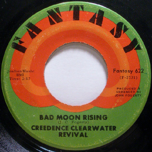 Creedence Clearwater Revival - Bad Moon Rising / Lodi (7