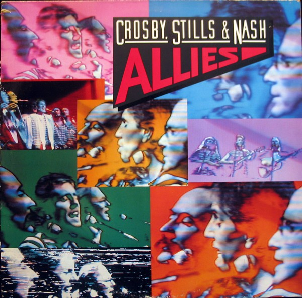 Crosby, Stills & Nash - Allies (LP, Album)