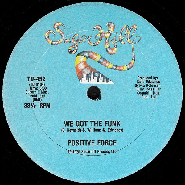 Positive Force - We Got The Funk (12