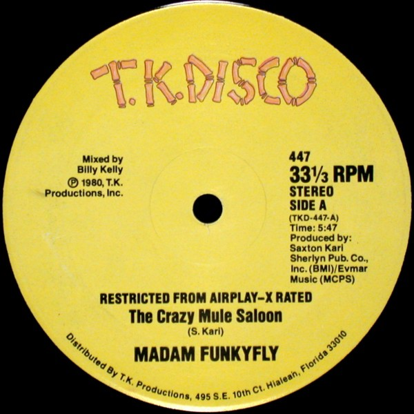 Madam Funkyfly - The Crazy Mule Saloon / That's It (12