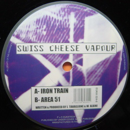 Swiss Cheese Vapour - Iron Train / Area 51 (12