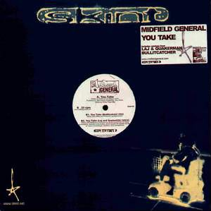 Midfield General - You Take (12