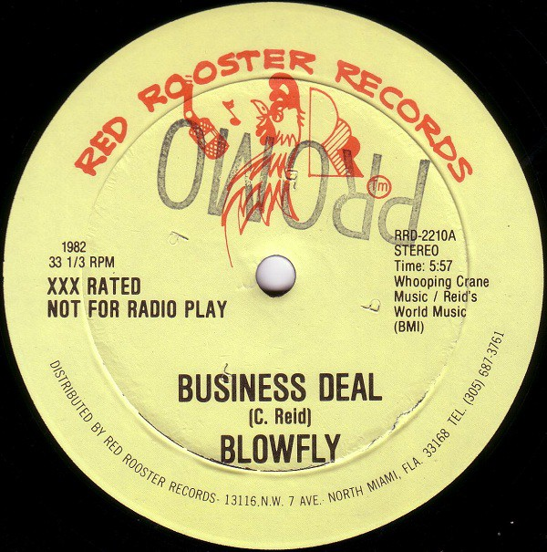 Blowfly - Business Deal (12