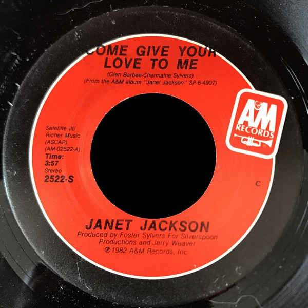 Janet Jackson - Come Give Your Love To Me (7