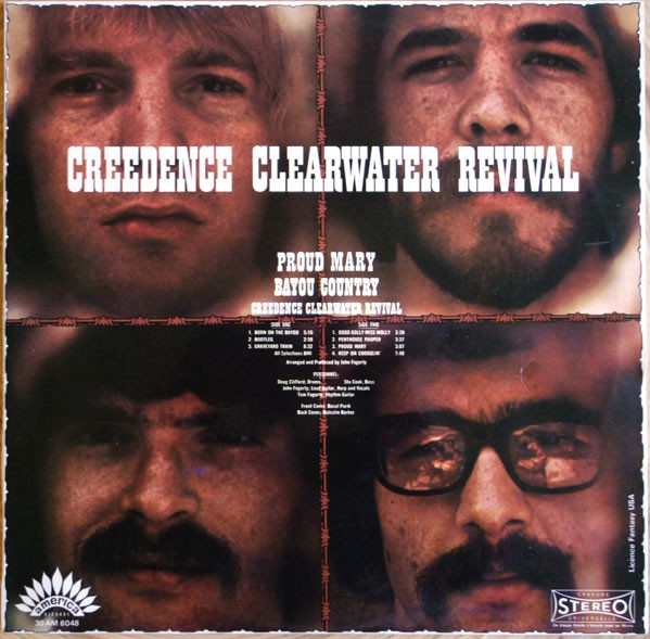 Creedence Clearwater Revival - Proud Mary / Bayou Country (LP, Album)