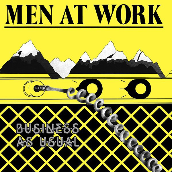 Men At Work - Business As Usual (LP, Album)