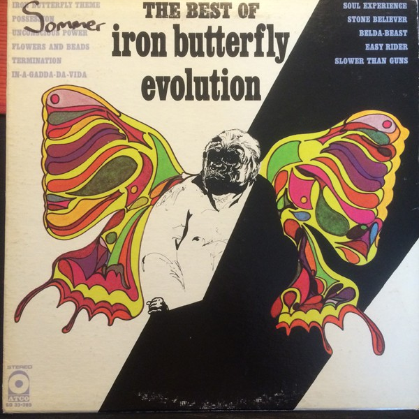 Iron Butterfly - The Best Of Iron Butterfly Evolution (LP, Comp, RE)