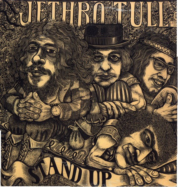 Jethro Tull - Stand Up (LP, Album, Gat)