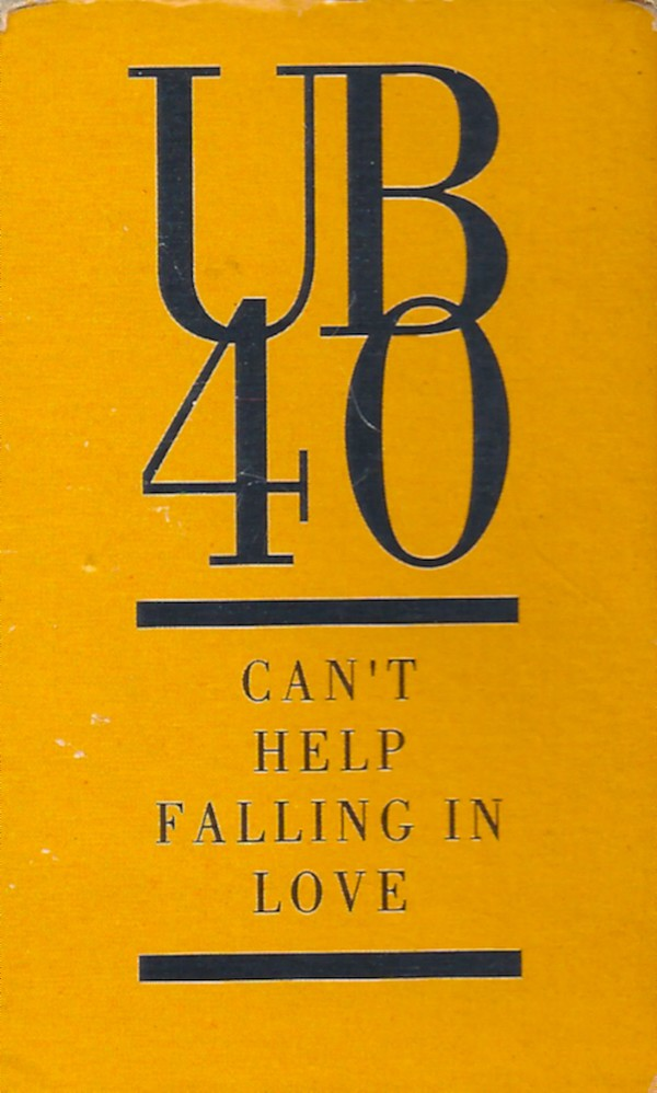 UB40 - Can't Help Falling In Love (Cass, Single)