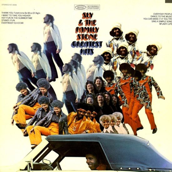 Sly & The Family Stone - Greatest Hits (LP, Comp, Gat)